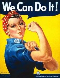 """We can do it!"" Rosie the Riveter Poster"